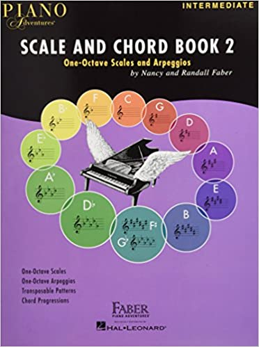Piano Adventures Scale And Chord Book 2 One Octave Scales And