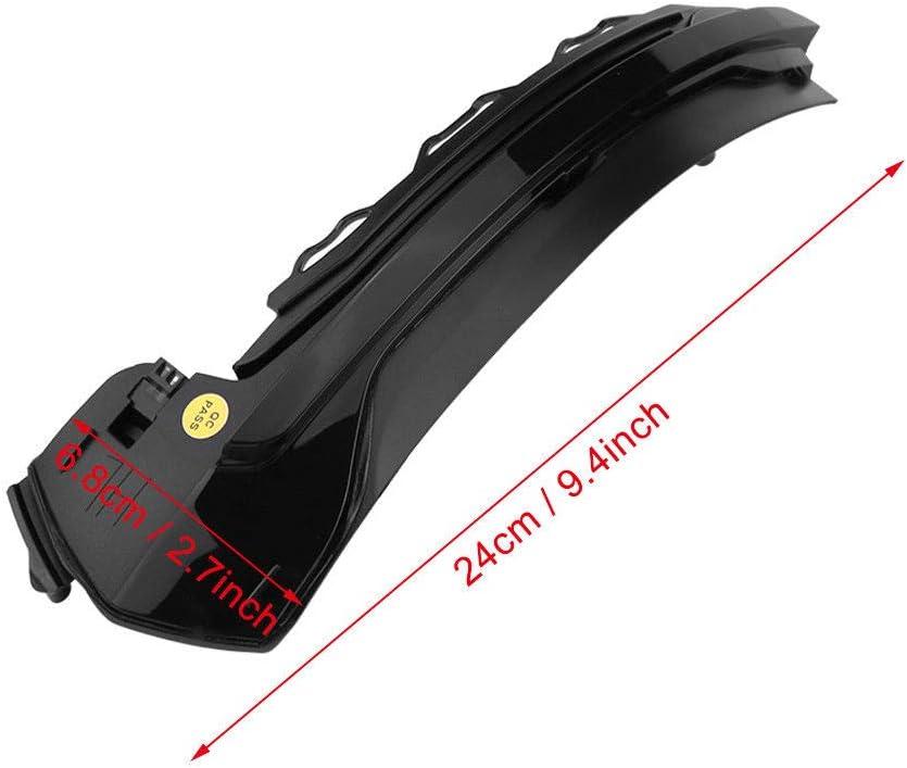 Black Shell Lot de 2 Clignotants dynamiques /à LED Remplacement pour A-UDI r/étroviseur lat/éral A3 S3 RS3 8 V 2013-2019