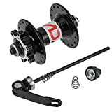 Lixada Bicycle Disc Brake Hub 32H Disc MTB Mountain Bike Front Rear Hub with Quick Release Lever Skewers