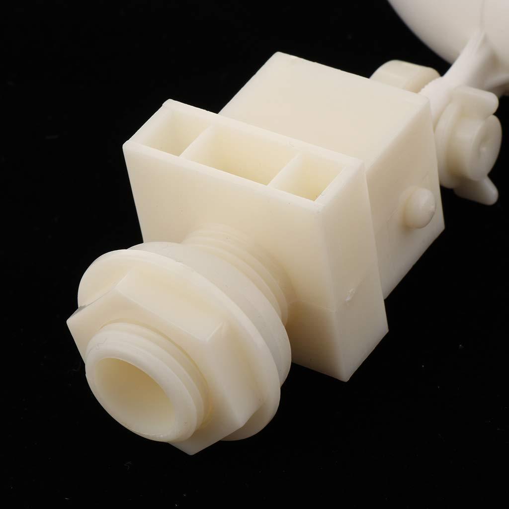 Sharplace Valvola A Galleggiante In Plastica Per Fontana Serbatoio Dellacqua Riempimento Automatico Con Braccio Regolabile
