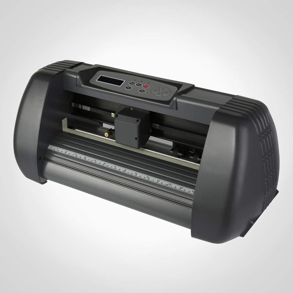 FINCOS Sign Making Kit 14 Inch Vinyl Cutter Plotter Desktop Artcut Software Design Cut