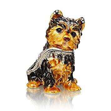 Welforth Yorkshire Terrier Trinket Box Model No. J-377