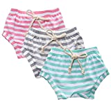 Kids Tales 3-Pack Summer Baby Boys Girls Striped