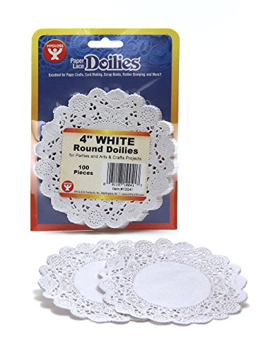 Paper Dollies (Hygloss 10041 100-Piece Round Doilies, 4-Inch,)