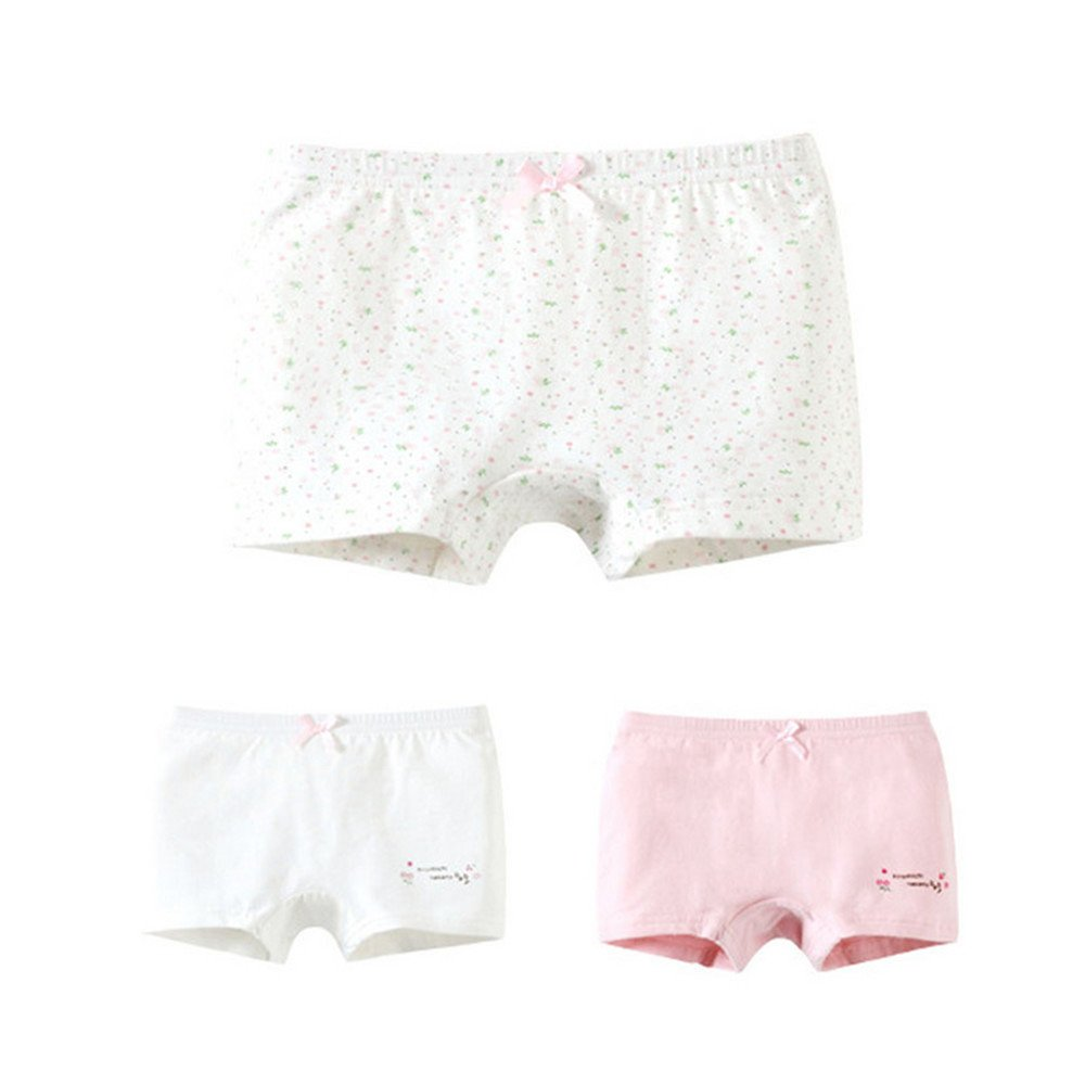 Top and Top Baby Soft Cotton Panties Little GirlsBriefs Toddler Underwear