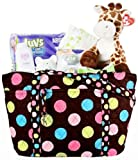 Basket Affair – Diaper Duffle Diva Gourmet Gift Basket, Health Care Stuffs