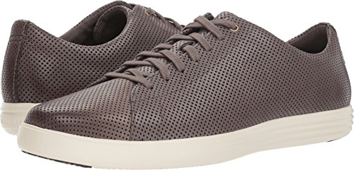 (Cole Haan Men's Grand Crosscourt II Sneaker, Stormcloud Perforated Leather/Optic White, 11 M US)