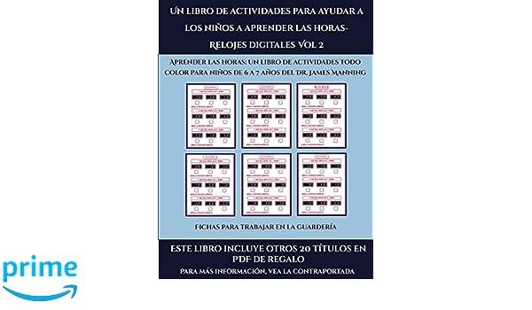 Fichas para trabajar en la guardería Un libro de actividades ...