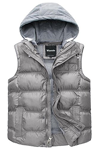 Quilted Sleeveless Vest - 1