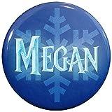 Buttonsmith® Megan Winter Ice Name Tag