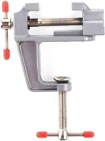Miniature Étau de Banc de Table Vise Clamp de Serrage Bijouterie Horlogerie