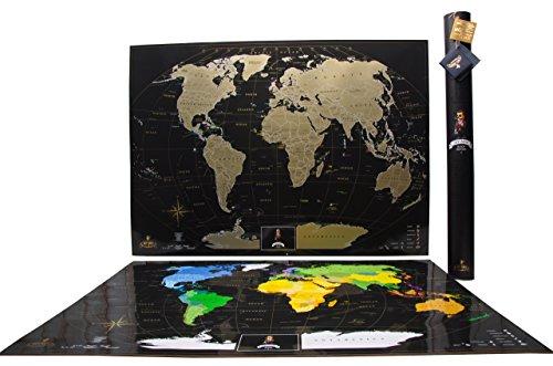 world map scratch - 5