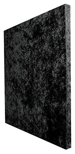 """Auralex Acoustics SonoLite Acoustic Absorption Foam, 1"""" x 24"""" x 24"""", 2-Panels, Black"""