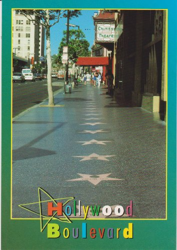 (HOLLYWOOD BOULEVARD Postcard LOS51 - .. .. from Hibiscus Express )