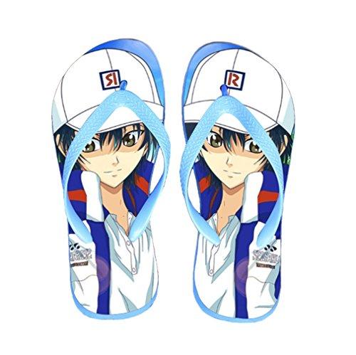 Bromeo The Prince of Tennis Anime Unisex Flip Flops Chanclas 786