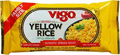 Vigo Yellow Rice, 16 Oz - 12 Per Case.