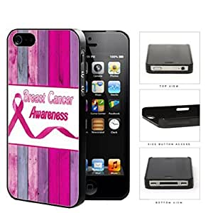Breast Cancer Awareness Pink Wood Fence Hard Plastic Cell For Samsung Galaxy S5 Mini Case Cover