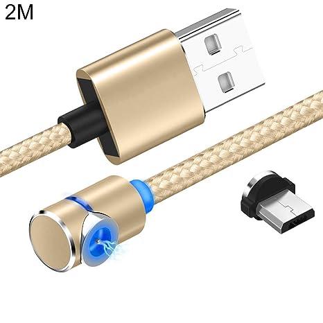 Cable de carga múltiple y trenzado magnético de 1/2 m, cable ...