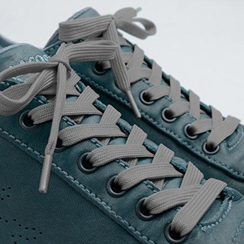 Plats Gris Pour Ou Baskets Type 8 Largeur Tout Paires Chaussures De Miscly Mm Lacets 3 HwZd6qH