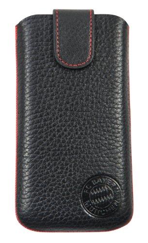Bayer Leverkusen Leather Bag, Universal Smartphonetasche Size M+