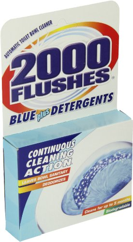 Blue Cube Automatic Toilet Bowl Cleaner 3.5 OZ  (Pack of 1) (2000 Flushes Toilet Bowl Cleaner)