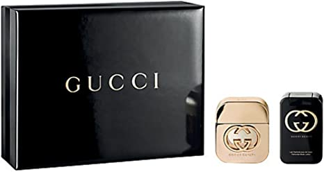 Gucci Guilty Eau de Toilette Spray y loción corporal Gift Set Para Ella, 100 ml: Amazon.es: Belleza