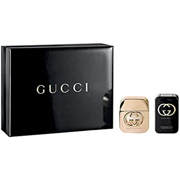 bbfa1f1d1dd Gucci Guilty Eau De Toilette Spray and Body Lotion Gift Set for Her ...