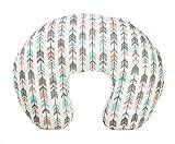 Org Store Premium Nursing Pillow Cover | Slipcover for Breastfeeding Pillows | Fits Most Boppy Pillows (Pink|Mint |Gray) (Pink/Mint/Gray): more info