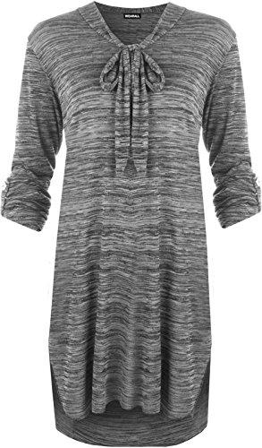 Funky Fashion Shop - Pantalón - para mujer gris oscuro