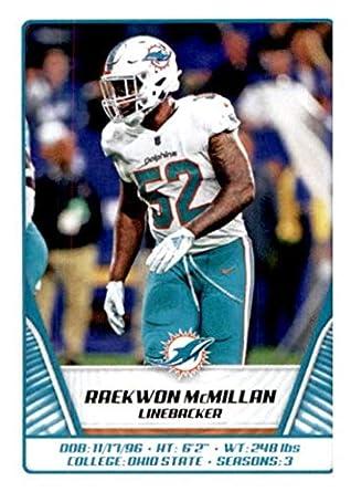 watch a613d 45503 Amazon.com: 2019 Panini NFL Stickers #58 Raekwon McMillan ...