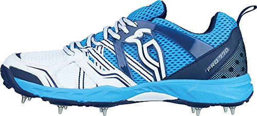 Kookaburra Pro 770 Cricket Spike Shoes - SS17 - 11 - Blue