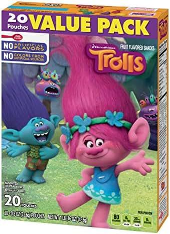 Fruit Snacks: Trolls