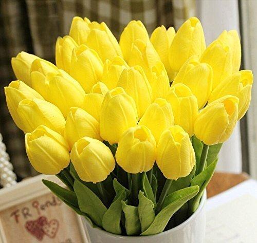 44 opinioni per Cozyswan 10 pezzi PU Stunning Olanda mi tulipano vero tocco di fiori di nozze