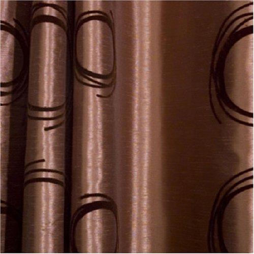 double rideaux marron amazing rideaux orange et marron with double rideaux marron cool rideau. Black Bedroom Furniture Sets. Home Design Ideas