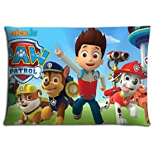 "16x24 16""x24"" 40x60cm cushion pillow cover cases Polyester / Cotton Fabric Breathable PAW Patrol"