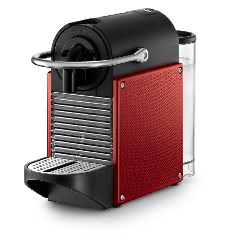 nespresso d60 pixie dark red espresso machine with aeroccino plus milk frother 11street. Black Bedroom Furniture Sets. Home Design Ideas