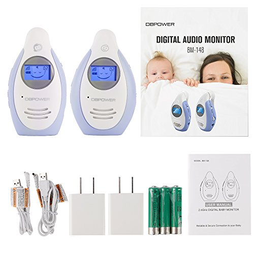 Dbpower Digital Audio Baby Monitor With Two Way And Talk