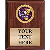 Dog Show Award Plaques - 5x7 Customized Dog Show Best of Winners Trophy Plaque