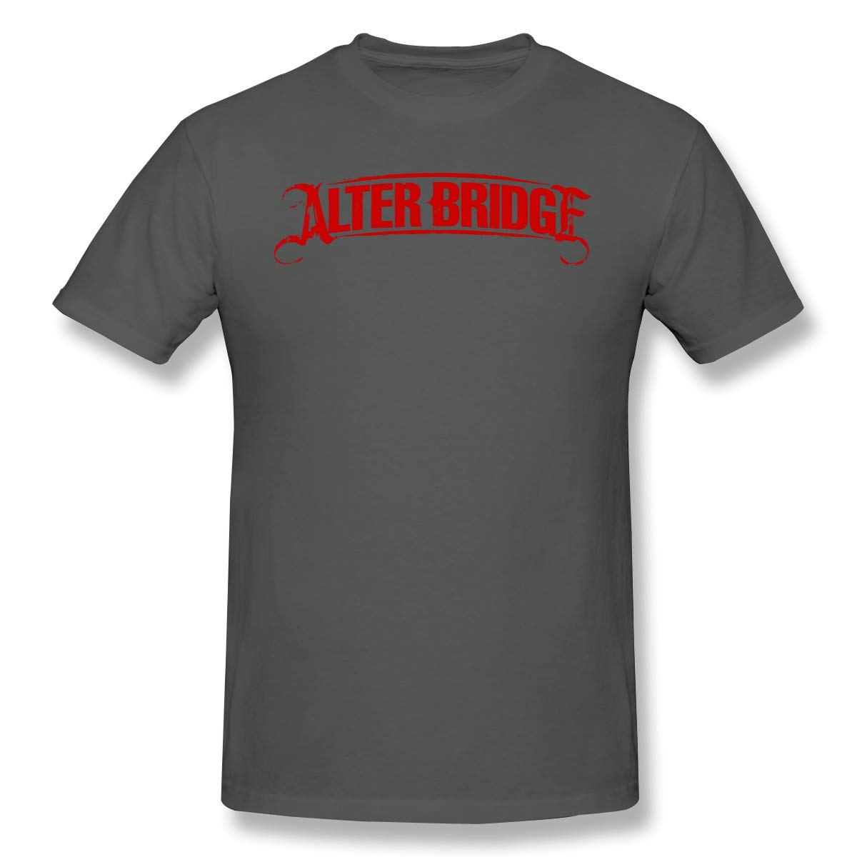 Pinnuoxieye Alter Bridge Men's Fashion Short Sleeve Deep Heather Shirts