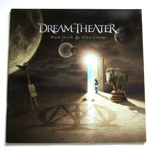 Dream Theater 2009 Tour Book (Dream Theater Black Clouds And Silver Linings)