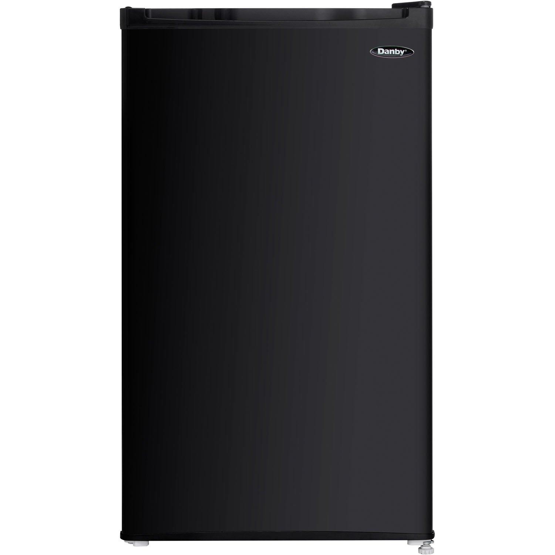 DANBY PRODUCTS DCR032C1BDB Compact Refrigerator,1 Door 3.2 cu-ft Black