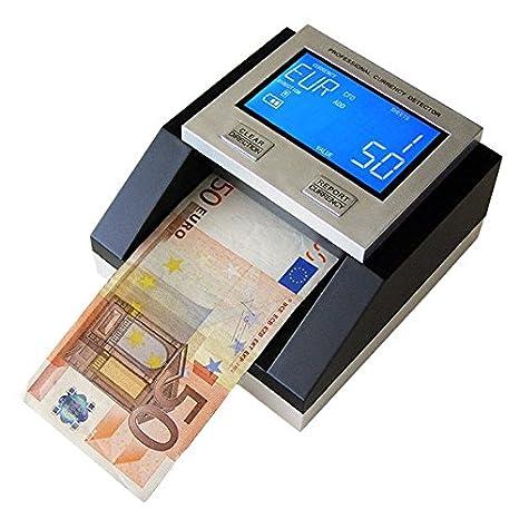 Detector de billetes falsos euros/CHF/GBP/Sek gms. Certificado 100% un A.C: Amazon.es: Oficina y papelería