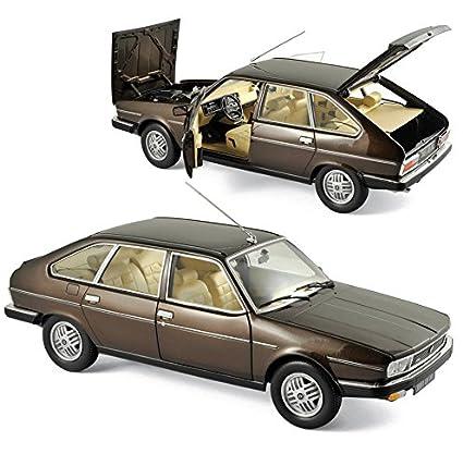1981 Renault 30 TX Bronze Brown 1/18 Diecast Model Car by Norev 185271