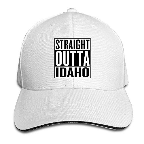 Peak Straight Outta Idaho Sandwich Cap For Man (Idaho Shop The Bar Falls)