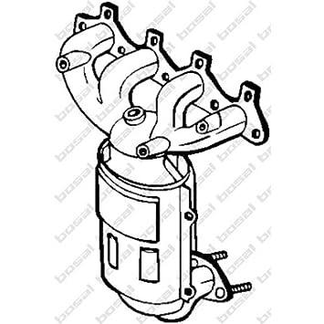 Amazon Com Bosal Catalytic Converter 099466 Automotive