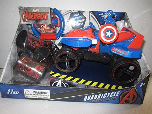 Captain America Quadricycle Quad Car Remote Control R/C