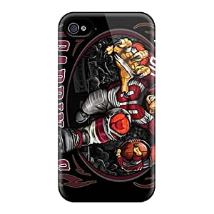 Shock Absorbent Cell-phone Hard Covers For Iphone 6plus With Customized High Resolution Arizona Cardinals Pictures KennethKaczmarek