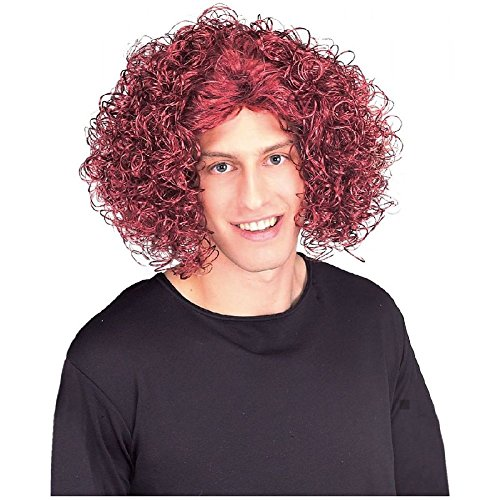 Loud Mouth Red Top Wig Carrot Head Costume Accessory Adult (Dead Mouse Head Costume)
