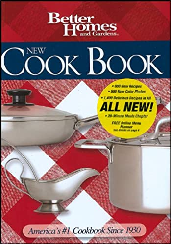 New Cookbook (Better Homes and Gardens Plaid)