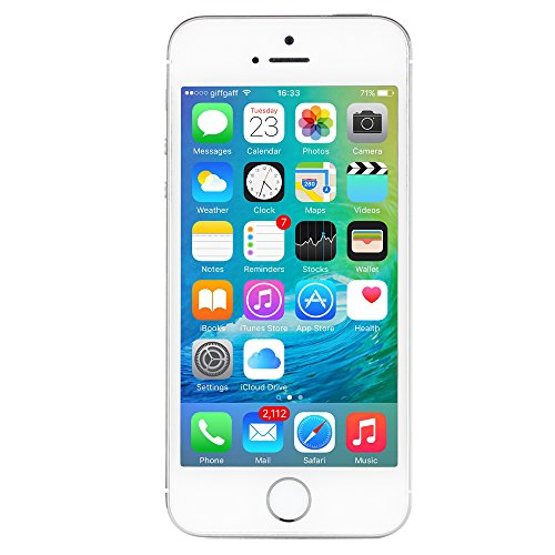Apple iPhone 5S 16 GB AT&T, Silver by Apple